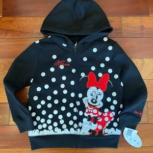 Brand New! Disney Parks Minnie hooded sweatshirt